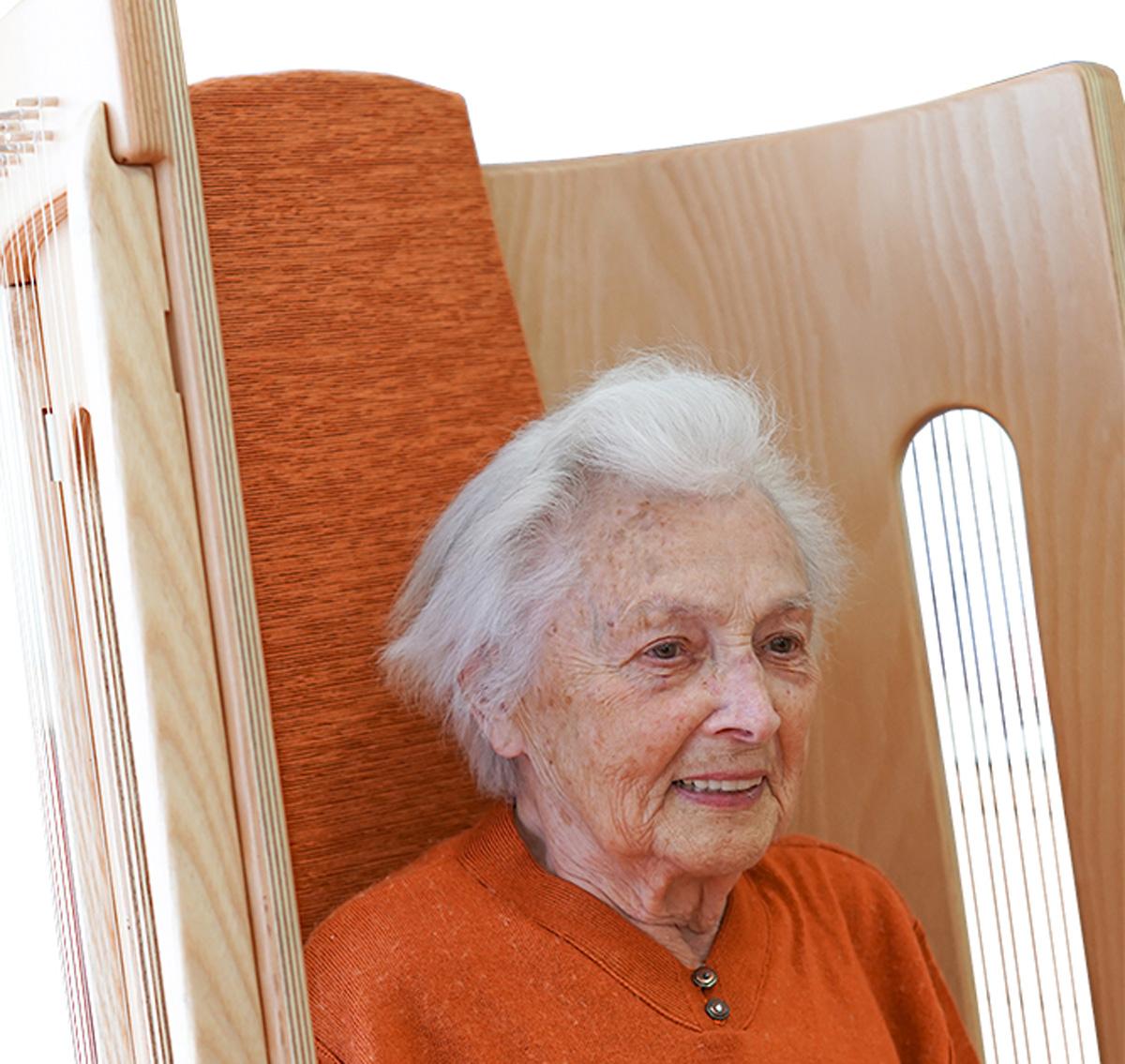 Allton-Klangstuhl Wir sind Altenpflege