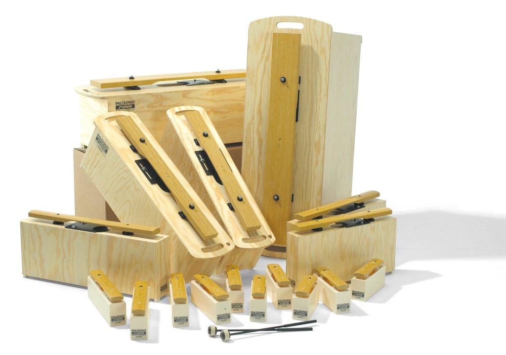 Klingende Stäbe Holz