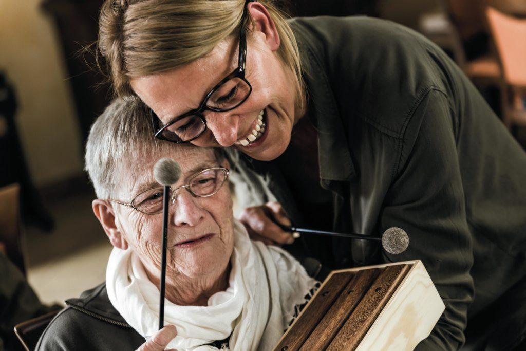 Musiktherapie in der Altenpflege