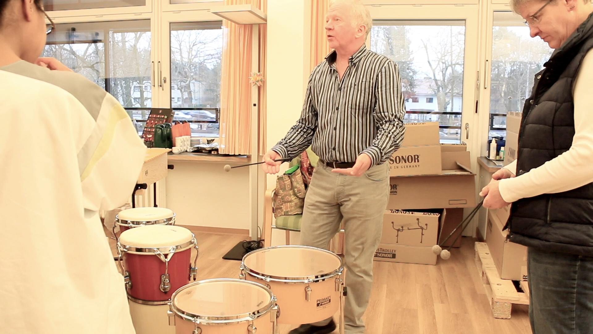 Musikprojekt in Berlin Malteser Krankenhaus 2