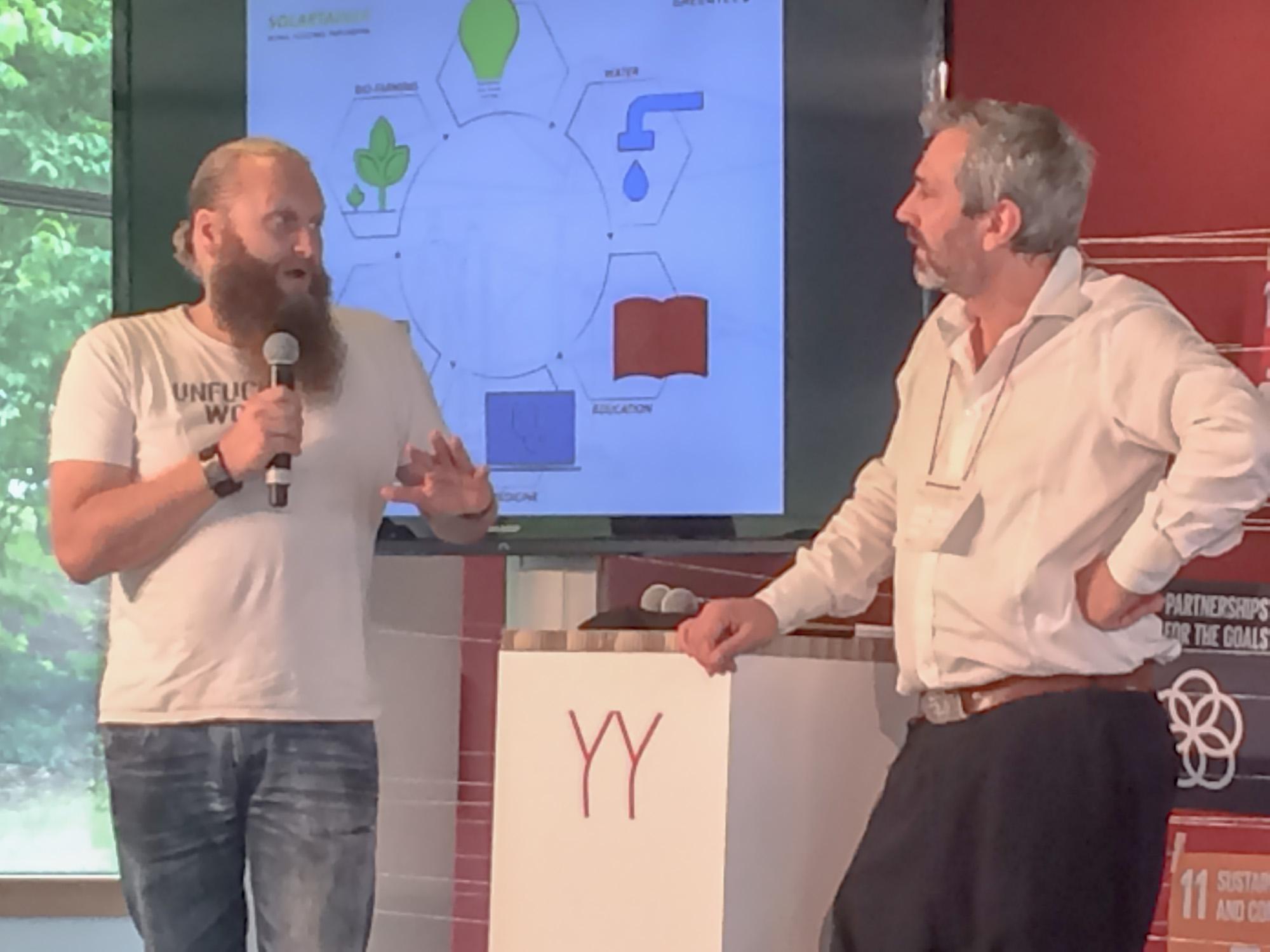 Torsten Schreiber | Africa Green Tec mit Hans Reitz