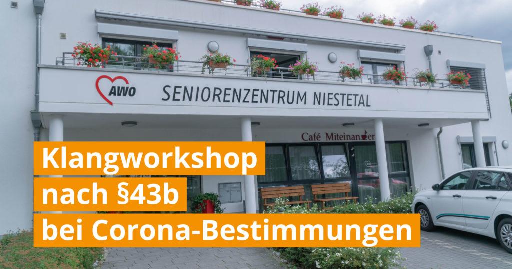 Thumbnail Wir Sind Altenpflege Klangworkshop Niestetal bei Corona-Bestimmungen Facebook