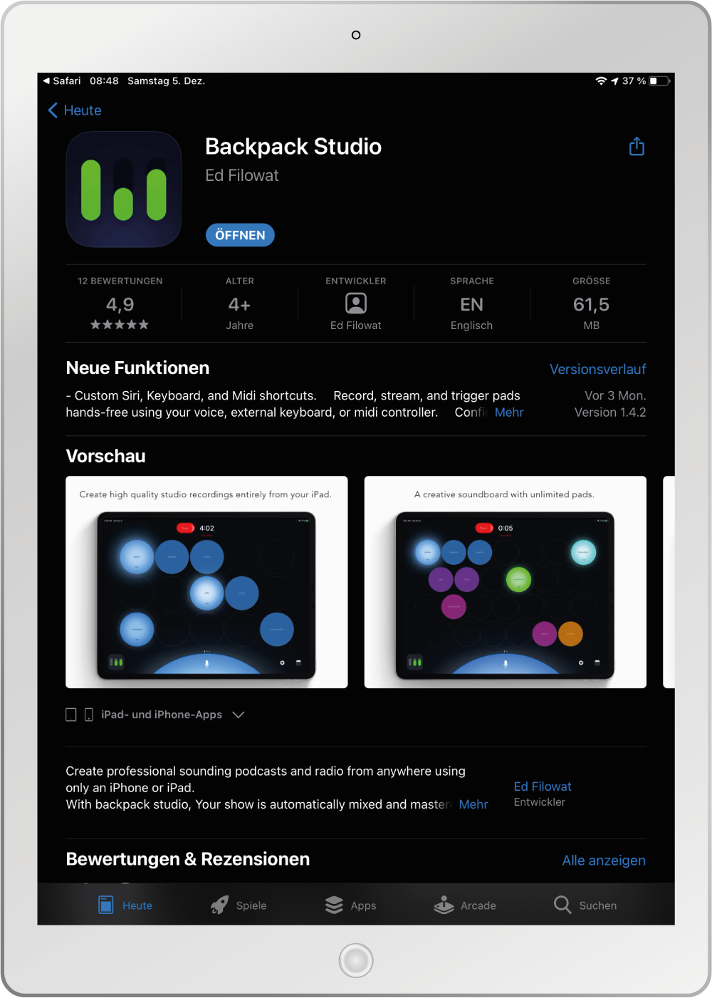 Mockup-Tablet-App-Installieren