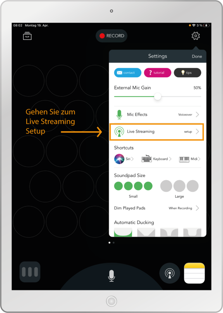 Mockup-Tablet-Live-Streaming-Einrichten