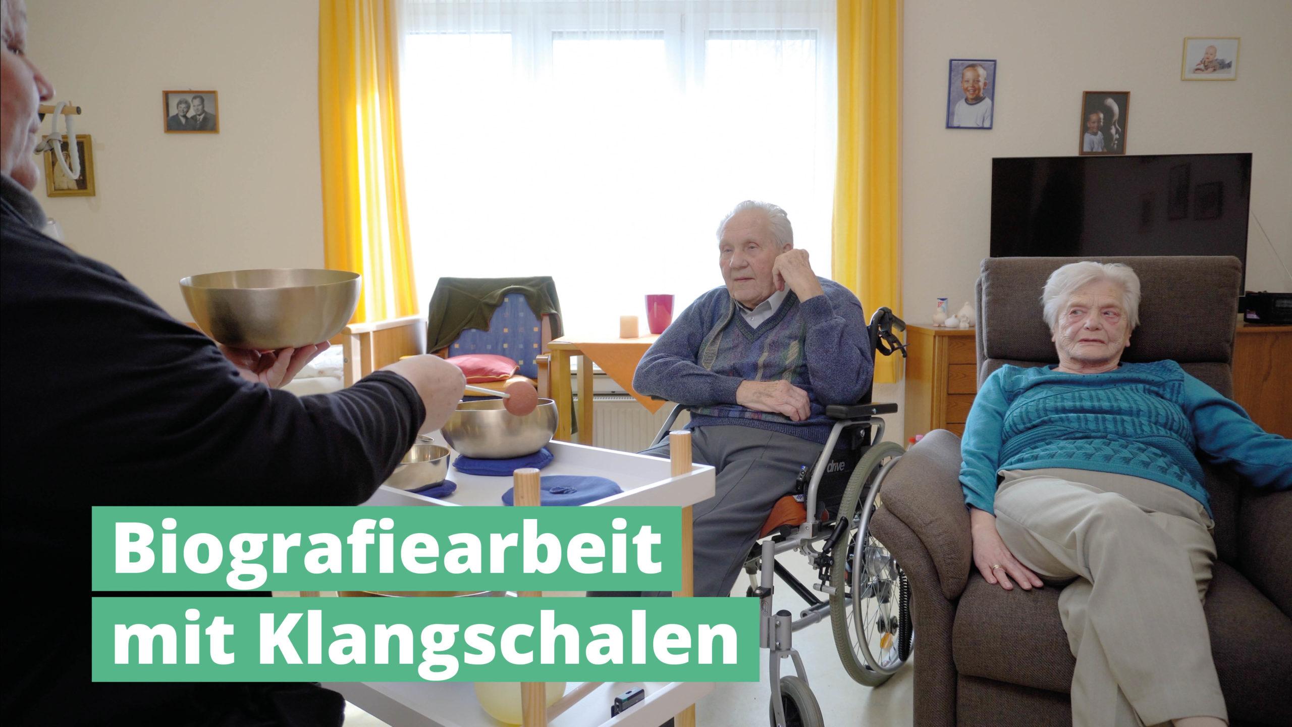 Biografiearbeit mit PeterHess Klangschalen Wir Sind Altenpflege