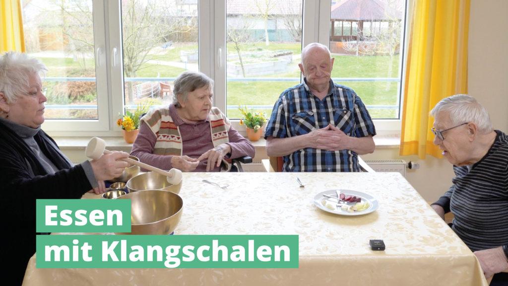 Essen Mit PeterHess Klangschalen Wir Sind Altenpflege