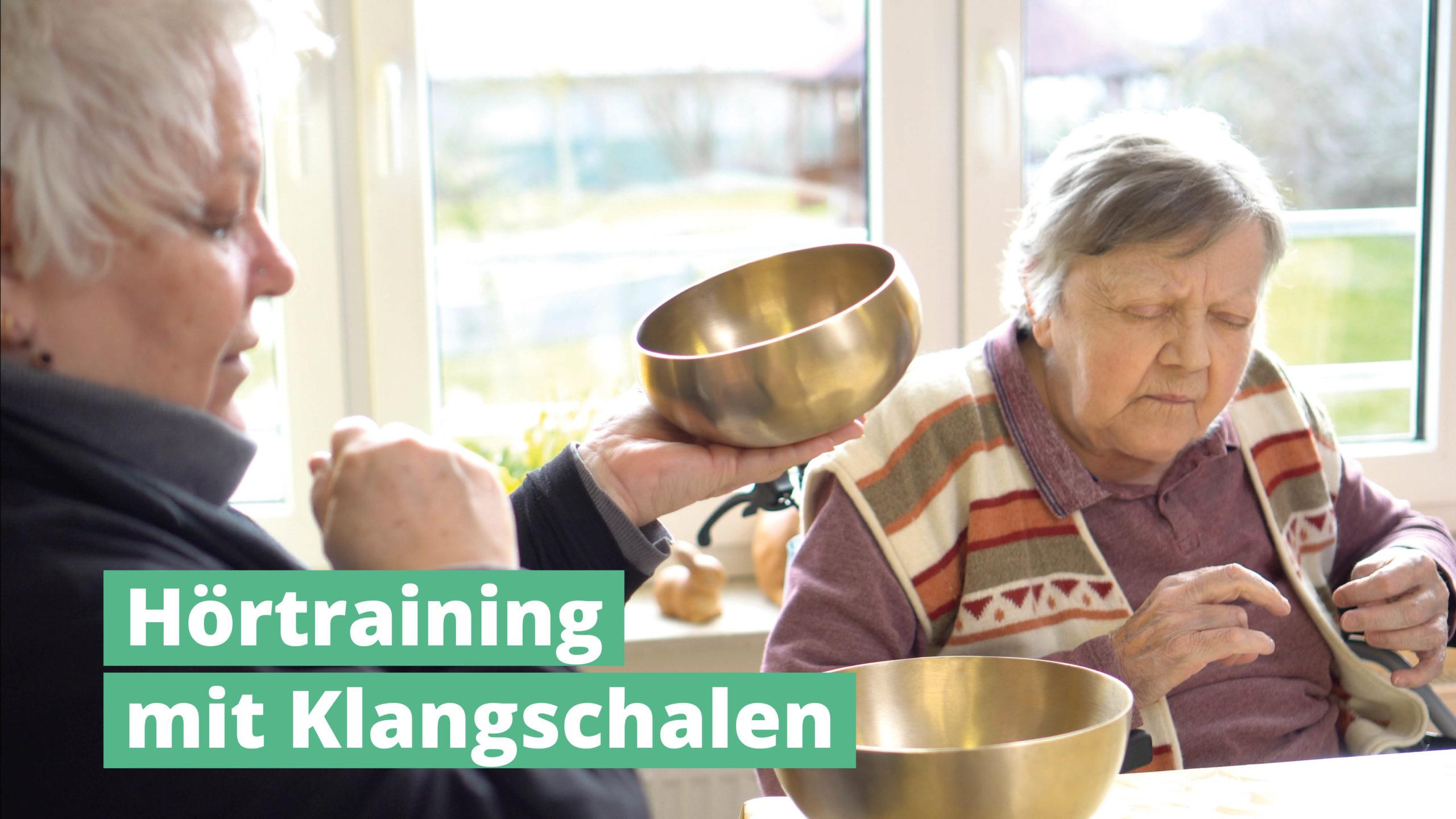 Hörtraining mit PeterHess Klangschalen Wir Sind Altenpflege
