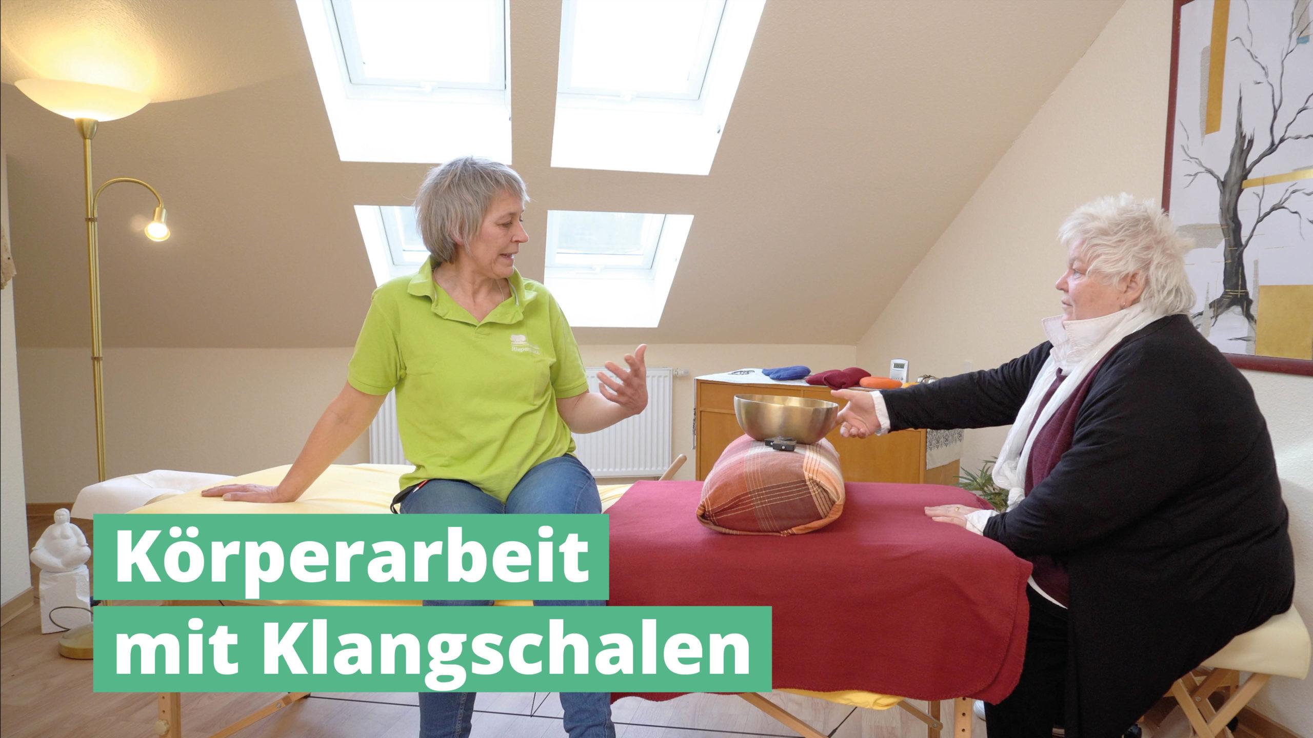Körperarbeit mit PeterHess Klangschalen Wir Sind Altenpflege