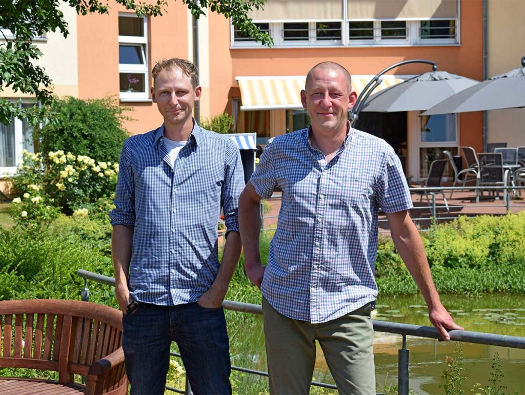 Manuel und Sven Joesting Seniorendomizil Riepenblick